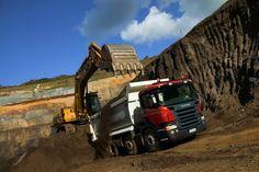 Scania работает над беспилотными самосвалами