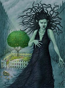 """""""Bean Sidhe's Garden"""" by tonyhough Framed Prints, Canvas Prints, Art Prints, Garden S, Fantasy Art, Beans, Poster, Painting, Fictional Characters"""