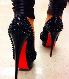 Walk a mile in these louboutins :-)