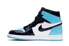 Wmns Air Jordan 1 Retro High OG-'Blue Chill' – Bazefost Jordan 1 Retro High, Tee Dress, Michael Jordan, Chill, Air Jordans, Sneakers Nike, Blue, Fashion, Nike Tennis
