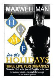 The first 'Home for the Holidays' poster... starting to do some serious work on this year's concert... gonna be great!