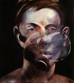 Francis Bacon - Portrait of Peter Beard 1975-1976