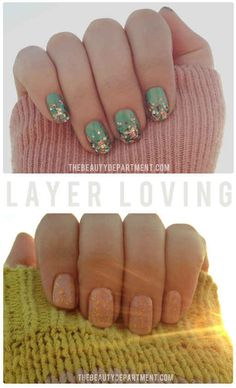 Layer-Loving Mani | 20 DIY Nail Tutorials You Need To Try This Fall