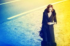 Black Coat for Vanity Fair