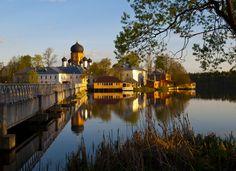 ***Vvedensky monastery by Elena Beregatnova (Russia) 4