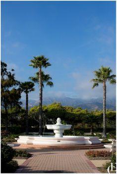 Fountain in Santa Barbara, California
