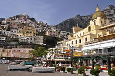 After days of hiking amid Italy's famed volcanic peaks, Positano offers simple comforts to help us recharge before we hit the trail again.