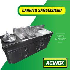 Carrito Sanguchero Modelo 6