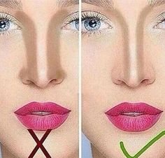 nose-contour-right-wrong