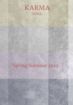Spring Summer 2015 Layout