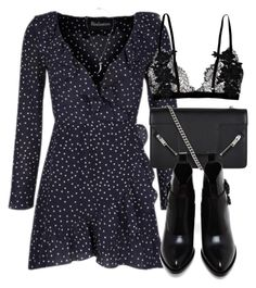 """Untitled #6652"" by laurenmboot ❤ liked on Polyvore featuring Yves Saint Laurent, Alexander Wang and Shaun Leane"