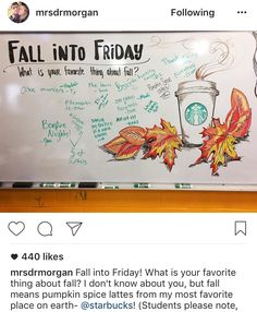 Writing bell ringers fall into Friday autumn - # School Classroom, Classroom Activities, Teaching Themes, Teaching Tips, Classroom Ideas, Friday Messages, Morning Messages, Morning Activities, Daily Writing Prompts