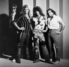 Van Halen, ... 1984 period. The best rock band ever.