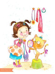 Kinderbild, Kinderbuch,  Kinderillustration, Bilder für Kinder von Doro Kaiser | Grafik & Illustration