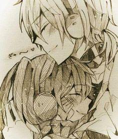 Len x Miku -- (Vocaloid)