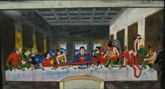 The Last Superhero Supper