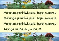"""Maori Resources – Tagged """"Te Reo"""" – Page 2 – Blackboard Jungle Proverbs For Kids, Educational Activities, Activities For Kids, Preschool Songs, Preschool Ideas, Maori Songs, Maori Patterns, Action Songs, Primary Teaching"""