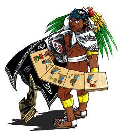 Cihuacoatl Tlacaelel by nosuku-k on DeviantArt