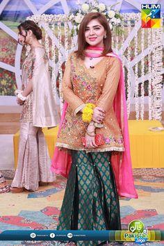 Natasha Ali In Jago Pakistan Jago, Natasha, pakistani Actress Pakistani Frocks, Pakistani Dresses Party, Pakistani Mehndi Dress, Beautiful Pakistani Dresses, Shadi Dresses, Pakistani Wedding Outfits, Party Wear Dresses, Indian Dresses, Beautiful Dresses