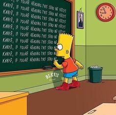 Bart Simpson @blkvis