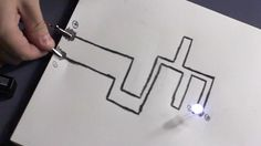 With this video tutorial from Household Hacker, you will learn how to make a functional circuit on paper. Really 14on paper! See how to make an LED light up with a lead-based paper circuit and how to make a resistor on that circuit. It also shows how to make a flashlight out of one of these paper circuits, an LED, and a battery.    Can't wait to see it? Watch now!  Video: .  Tip: It would be better to use a 2B pencil, which you can pick up at any art shop.