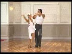 A very good example of standard Rumba combinations but with loads of styling and technique. Even if you haven't been dancing for very long there are basic steps in here to show you just how good even the simple stuff can look. Skip the chatty bit at the start. Thanks to Chanel Hughes for finding this clip.  www.phoenixdancestudio.com.au