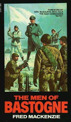 The Men Of Bastogne by Fred Mackenzie 1972 Vintage Paperback War Novels, Ace Books, Baseball Cards, Men, Ebay, Vintage, Store, War, Larger