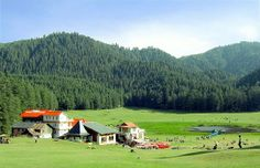 Khajjiar, often called as India's Switzerland, is a hill station in Chamba District of Himachal Pradesh.
