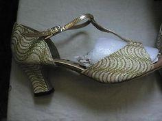 art deco glitter shoes - Google Search