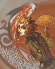 Suki: Kyoshi warrior Avatar: the last airbender. Suki Avatar, Korra Avatar, Team Avatar, All Anime, Me Me Me Anime, Legend Of Aang, Kyoshi Warrior, Iroh, Nickelodeon
