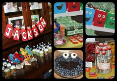Sesame Street, Elmo Birthday Party Ideas | Photo 1 of 49 | Catch My Party