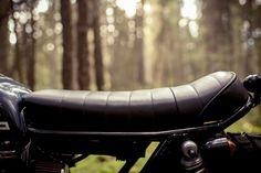 Honda CB360 customized by Federal Moto of Canada.