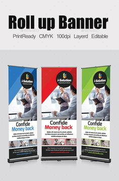 Roll Up Business Banners Template #design Download: http://graphicriver.net/item/roll-up-business-banners-template/11243111?ref=ksioks