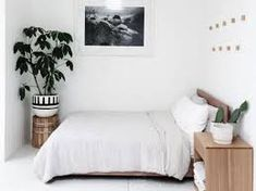 Minimalist bedroom ideas are the epitome of picture perfect home decor. If you need some change in your living space, here are 15 minimalist bedroom ideas that will inspire you to redecorate your room! Bedroom Nook, Bedroom Themes, Bedroom Colors, Bedroom Decor, Bedroom Ideas, Dream Bedroom, Minimalist Room, Minimalist Home Decor, Feminine Bedroom