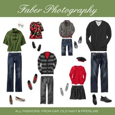 ~ What to Wear Wednesday ~ Family Portrait ~ Fond du Lac, WI - Senior Portraits & Custom Photography Plymouth WI Fall Family Outfits, Family Picture Outfits, Fall Outfits, Red Outfits, Holiday Outfits, Family Photos What To Wear, Family Pictures, What To Wear Fall, How To Wear