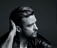 Justin Timberlake by Hedi Slimane for NY Times T Style Men's Fall Fashion 2013