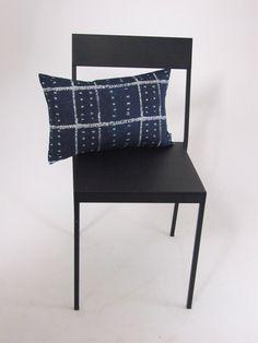 William+Yeoward+Cimbrone+indigo+Cushion+Cover, £14.00 linen designer fabric in blue and white.