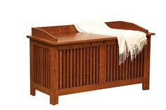 Blanket Hope Chests :: Bedroom :: Amish furniture – Mission style ...
