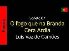 O Fogo que na Branda Cera Ardia - Luís Vaz de Camões  | Poema