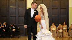 Allie Laforce and Joe Smith called on Catan Events for their big day. Catan Events coordinated the entire event, provided church decor, bouquets (including the stunning bridal bouquet), tablescapes and lighting. Catan Fashions provided Allie's beautiful veil. Check out the video at http://bit.ly/1CWBjnY #weddingplanner #celebrityweddings #wedding