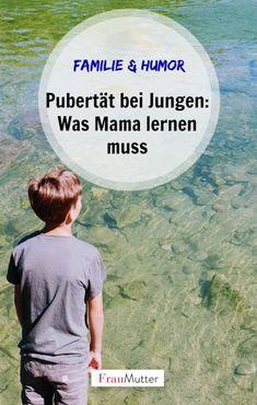 """Pubertät bei Jungen: Was Mama jetzt lernen muss. Die Zeit der Abgrenzung ist für Eltern nicht immer einfach zu verkraften, aber es gibt so viele tolle Erlebnisse mit einem Teenager oder """"Pubertier"""". Und die Eltern gehen ja auch durch eine schwierige Phase, oder? #pubertät #jungen #pubertaet #pubertier #teenager #kind #eltern #familie #mutter #mama"""