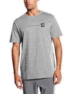 The North Face NSE Short Sleeve - Camiseta de running para hombre #camiseta #realidadaumentada #ideas #regalo