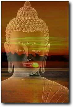 """""""You are not alone because all the time there are numberless buddhas and bodhisattvas surrounding you, everywhere loving you, guiding you, that is what they do."""" ~ Lama Zopa Rinpoche, How to be happy ॐ lis Buddha Artwork, Buddha Painting, Amitabha Buddha, Gautama Buddha, Buddhism Symbols, Buddha Thoughts, Buddha Zen, Buddha Peace, Buddha Tattoos"""