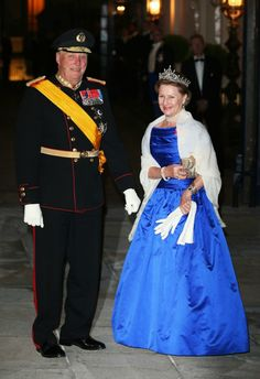 King and Queen of Norway in Luxembourg