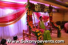 Baby Shower Decor Mumbai ~ Pin by sukanya jadhav on 30 amazing swing decoration for dohale
