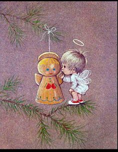 Explore our portfolio of art and designs for license. Vintage Christmas Images, Old Christmas, Christmas Pictures, Christmas Angels, Christmas Crafts, Christmas Ornaments, Christmas Thoughts, Illustrations Vintage, Christmas Illustration