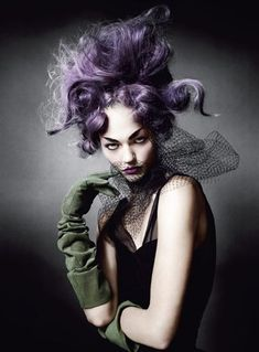 Oribe hair - very Ursulean... I want tentacles!