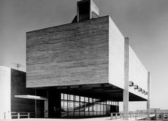 Church and parish center, São Bonifácio, São Paulo, Hans Broos 1964-66