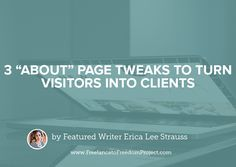 """As a copywriter, I've heard a zillion different questions when it comes to """"About"""" pages: But like, what should I share? And how much should I share? Is this part necessary? What about this? Ugh, can I really talk about my Ivy League education without sounding like a total braggy pants? And by the way…how …"""