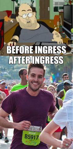 #ingress #meme Before Ingress After Ingress